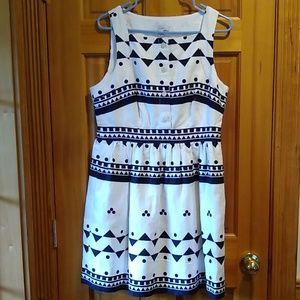 J. Crew sleeveless dress